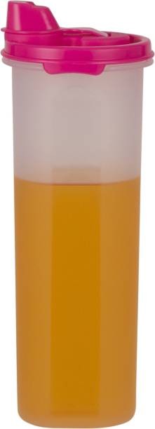 POLYSET Magic Seal Oil Canister 810ML White Bottom Pink Lid,  - 810 ml Plastic Utility Container