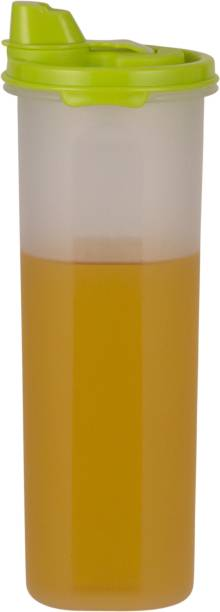 POLYSET Magic Seal Oil Canister 810ML White Bottom Green Lid,  - 810 ml Plastic Utility Container