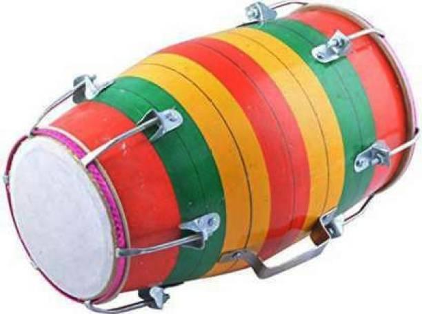 RAM musical 14'' inch Baby Dholak RMH-0011 Nut & Bolts Dholak
