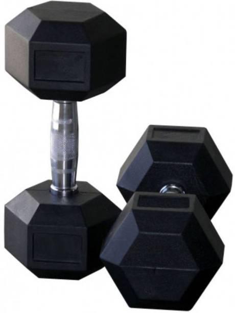 HOMMER HEXA (5KG * 2pcs = 10kg) Fixed Weight Dumbbell (10 Kg) Fixed Weight Dumbbell