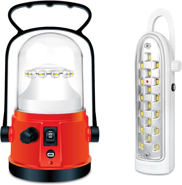 THUNDER COMBO LED LIGHT OFFER ULTRA POWER + LEGEND WITH CHARGER Lantern Emergency Light