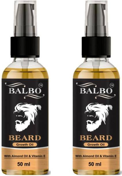 BALBO Advanced and Orgaic Beard Growth Oil for strong and healthy beard growth organic beard oil  Hair Oil