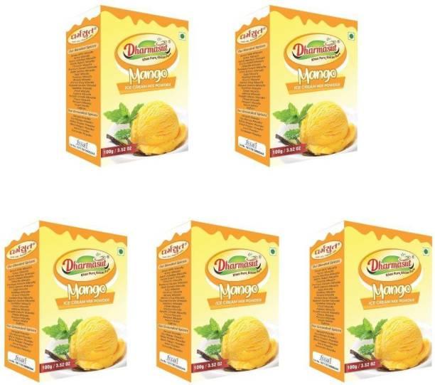 Dharmasut Mango Ice Cream Powder 500 g (Pack of 5) 500 g