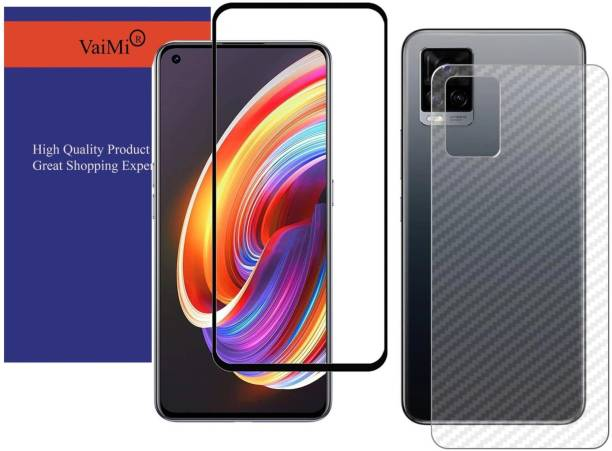 VaiMi Front and Back Tempered Glass for Realme 8 Pro