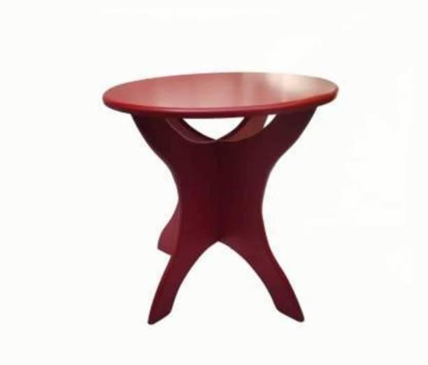Sublime Arts Engineered Wood Side Table
