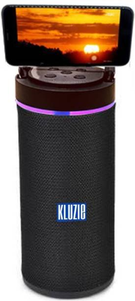 webster KLUZIE Series KLZ KT-125 Stereo Audio deep 3d bass with Mobile holder & led lighting 10 W Bluetooth Speaker