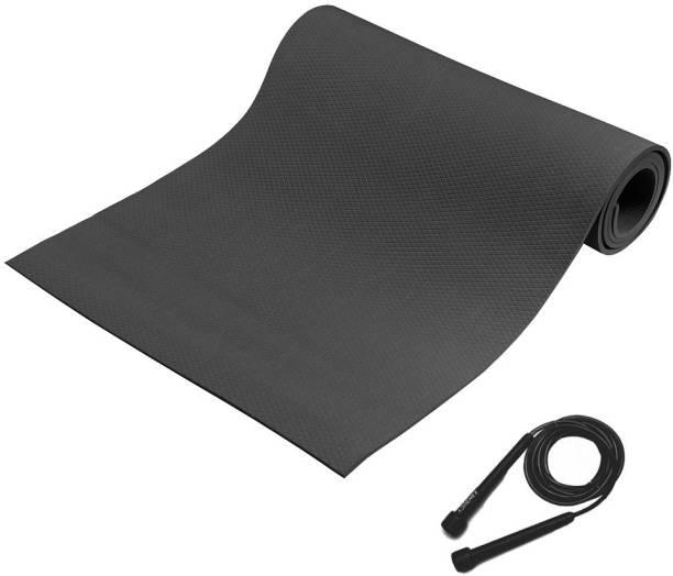 Adrenex by Flipkart Anti Skid 6MM Yoga Mat with Skipping Rope 6 mm Yoga Mat