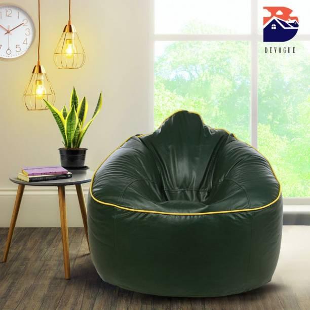 Devogue XXXL Chair Bean Bag Cover  (Without Beans)
