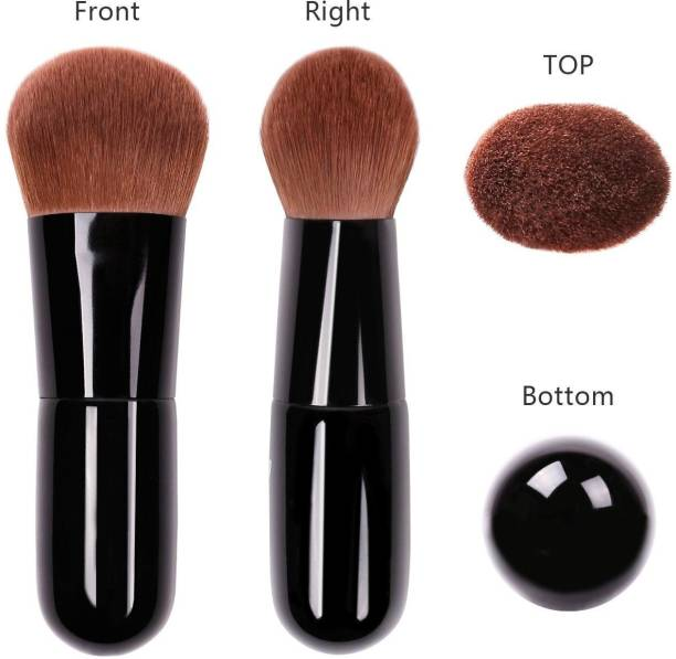 Hauck Foundation Face Powder Brush Portable Makeup Cosmetic Tool