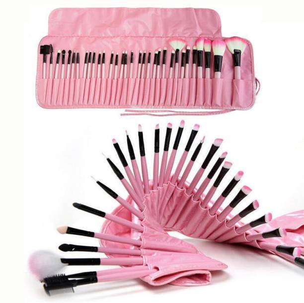 BELLA HARARO SkinPlus Soft Makeup Brushes 32 Piece Face & Eye Makeup Brush Set Premium Synthetic Foundation Blending Face Powder Lipstick Eye shadow Make Up Brushes Set