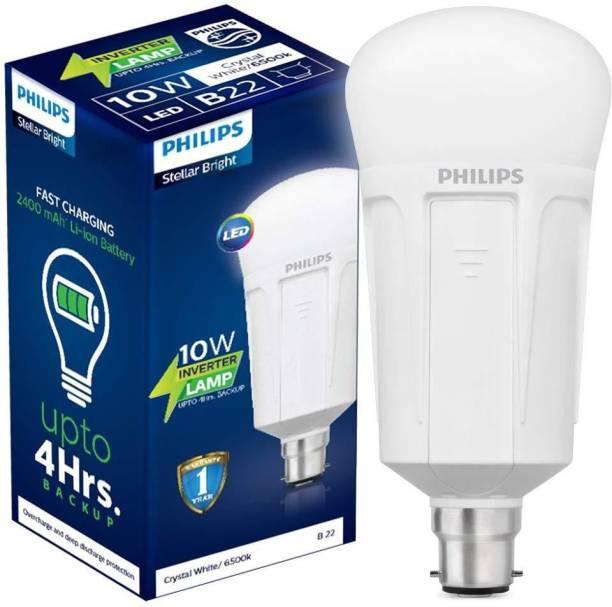 PHILIPS 10 W Round B22 LED Bulb