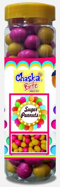 CHASKA BITE  Peanuts Sugar Coated Multicolor Fruit Flavour Snack  Fruit flavor Candy