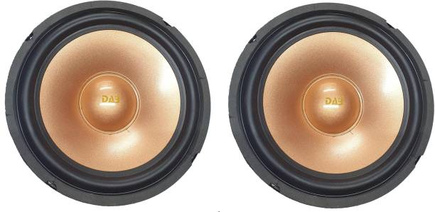 DAB 8 inch Golden Colored Pair 9017 Magnet 2 pieces Woofer Subwoofer