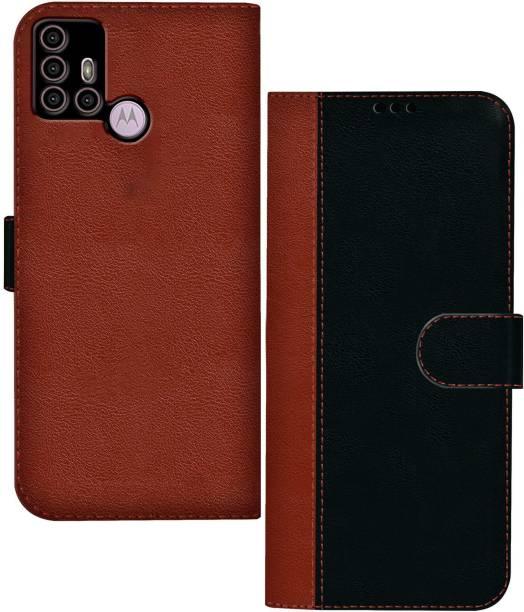 Hupshy Flip Cover for Motorola Moto G30
