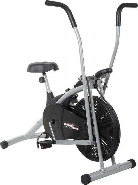 SPEED BIRD Air Bike Exercise for Weight Loss - Exercise Cycle with Moving Handles for Unisex Indoor Cycles Exercise Bike