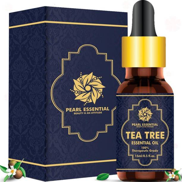 PEARL ESSENTIAL Tea Tree essential oil,prevent and reduce acne, get rid of nail fungus, reduce fine line and wrinkle, brighter and smoother new skin, and reduced and regulate oiliness (pack of 1)