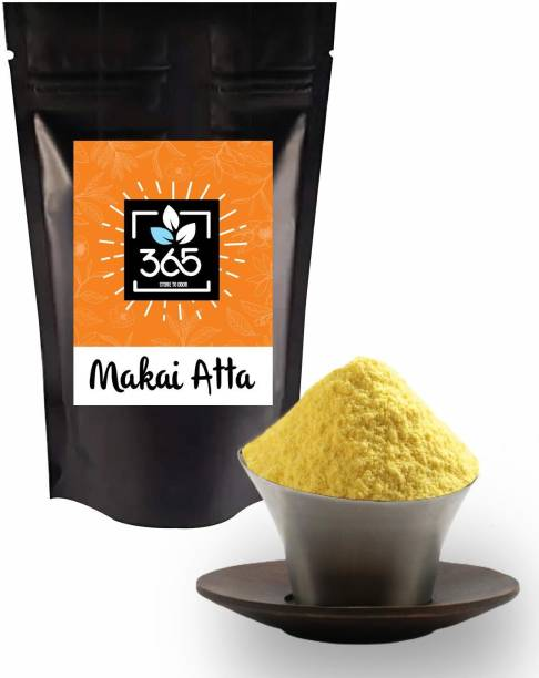 365 STORE TO DOOR Makkai Atta/Maize Flour, 400 gm. | Corn Flour | Ready to Cook Powdered Corn Meal | Healthy Grocery and Pantry