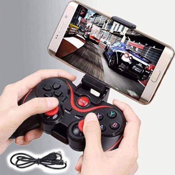 TONZO Wireless Controller X3 Support for Android Phone Smart Box Smart TV Laptop & PC X3 Bluetooth Wireless Gamepad Controller Handle For Android Smartphone for PubG special  Gamepad