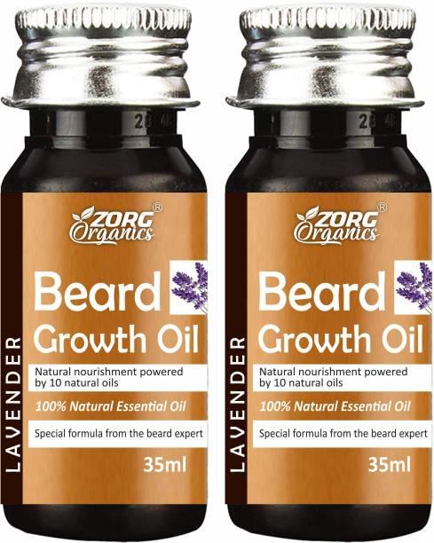 Zorg Beard Growth Oil - 35ml - More Beard Growth, 8 Natural Oils including Jojoba Oil, Vitamin E, Nourishment & Strengthening, No Harmful Chemicals Hair Oil