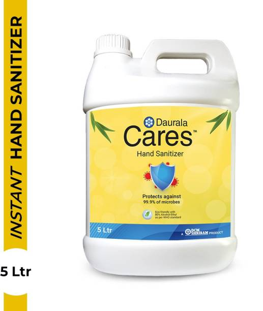 Daurala Cares 5 Liters Can Hand Sanitizer Can