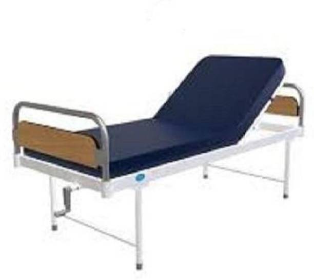 MAHABIR FURNITURE Iron, Wooden Manual Hospital Bed
