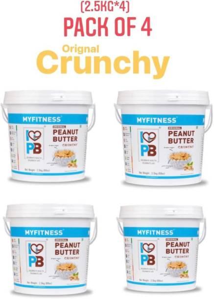 MYFITNESS Original Crunchy Peanut butter 10000 g