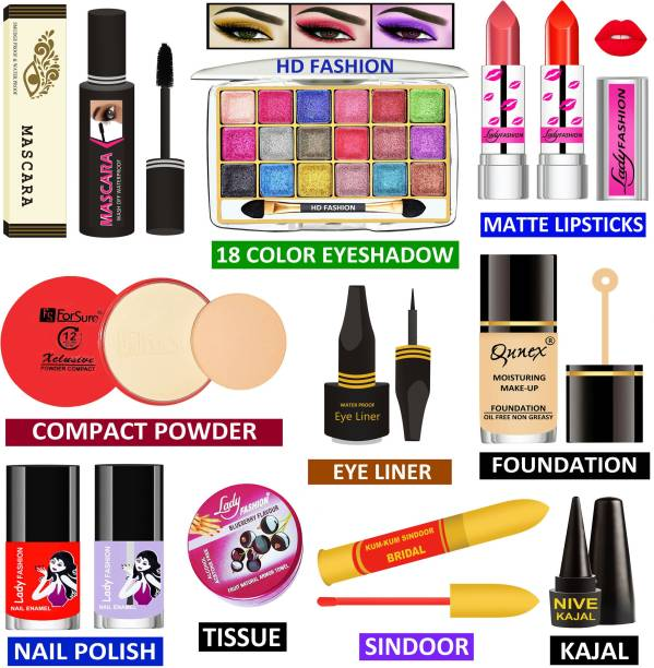 HD Fashion Makeup Kit for Girls & Women to Look Like a Rich Queen RQMK14