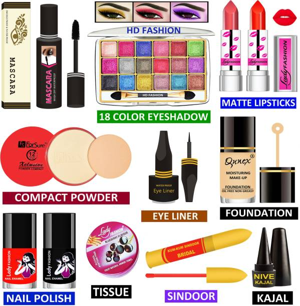 HD Fashion Makeup Kit for Girls & Women to Look Like a Rich Queen RQMK10