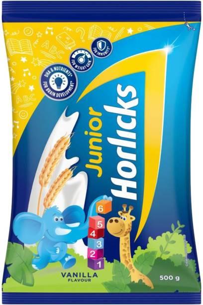 Junior Horlicks Vanilla Flavor