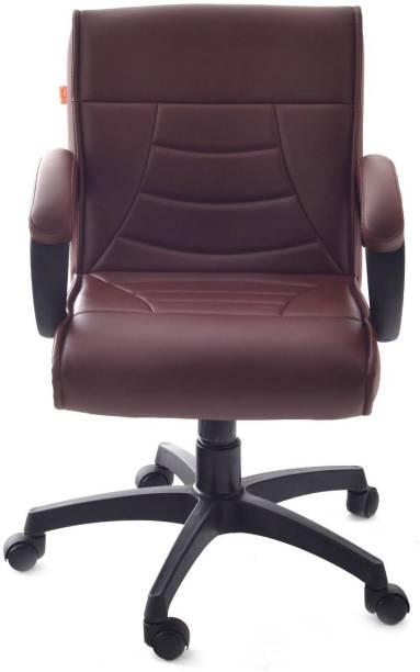 Da URBAN Haven Brown Leatherette Office Executive Chair