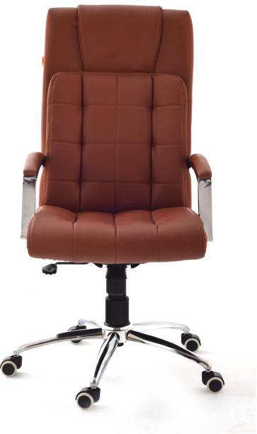 Da URBAN Richmond Tan Leather Office Executive Chair