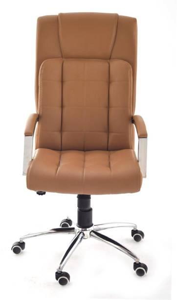 Da URBAN Richmond Beige Leather Office Executive Chair