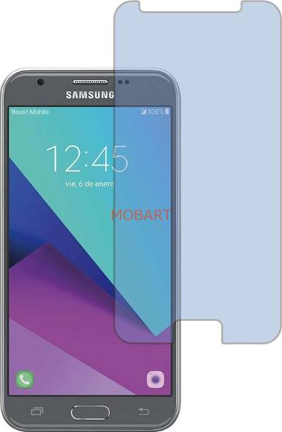 MOBART Tempered Glass Guard for SAMSUNG GALAXY J3 EMERGE (Impossible AntiBlue Light)