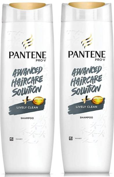 PANTENE Lively Clean Shampoo 340 Ml 2 Pcs