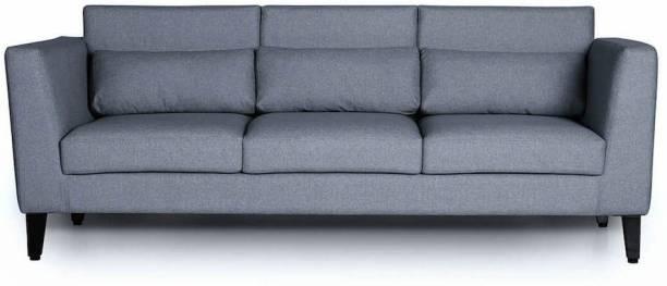 Wakefit Snoozer Sofa Fabric 3 Seater  Sofa