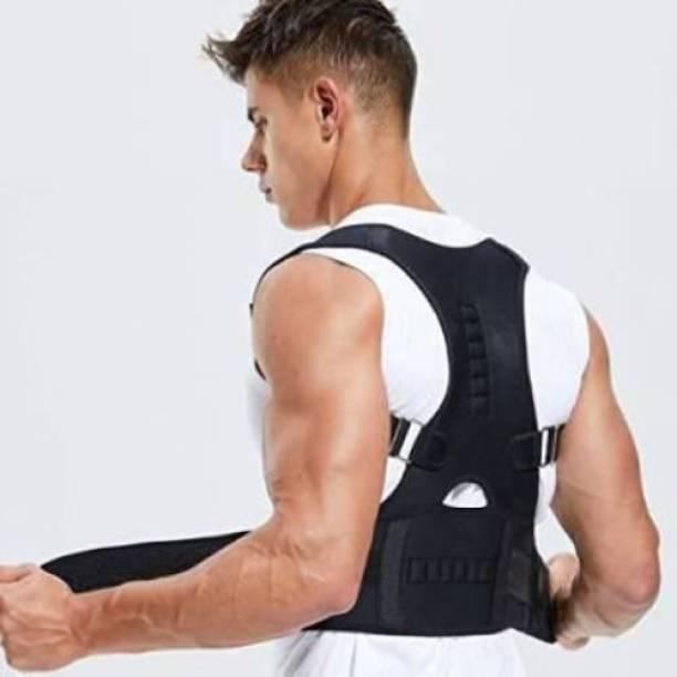 VSTAR CARE Magnetic Back Brace Posture Corrector for Lower and Upper Back Pain Relief Back Support