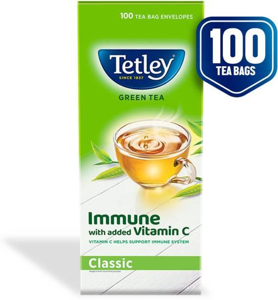 tetley Pure Original Green Tea Bags Box