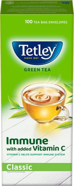tetley Pure Original Green Tea Bags Box