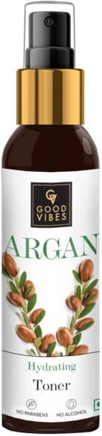 GOOD VIBES Hydrating Toner - Argan (120 ml) Men & Women
