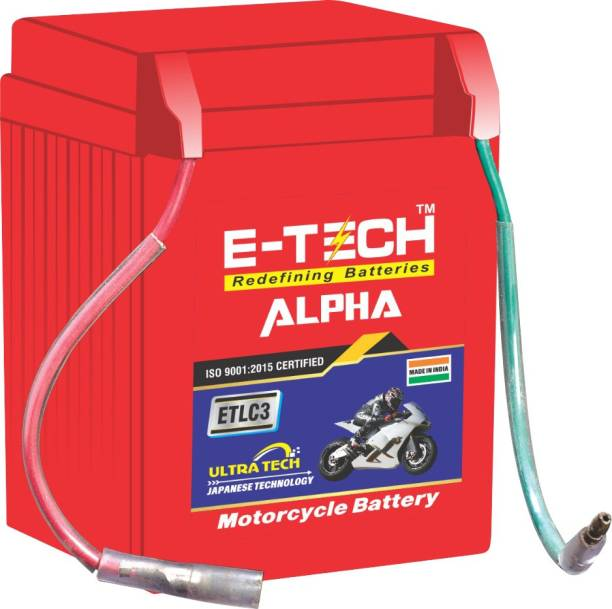 Etech 10003 3 Ah Battery for Bike