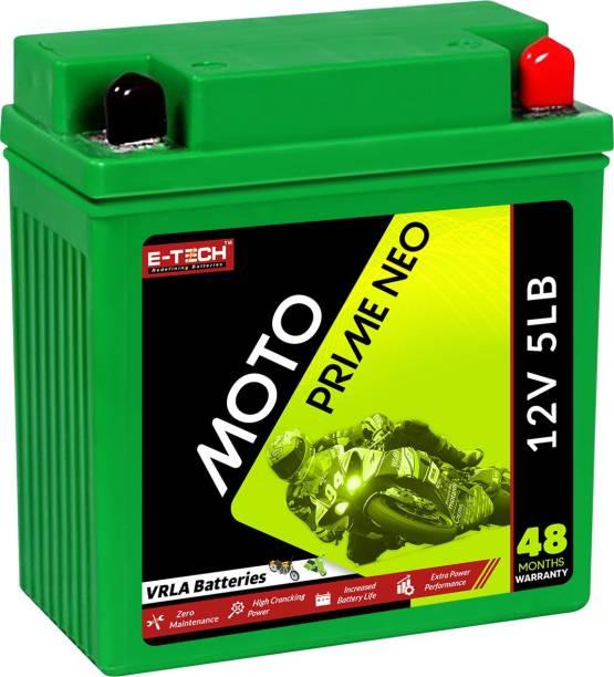 Etech 10014 5 Ah Battery for Bike