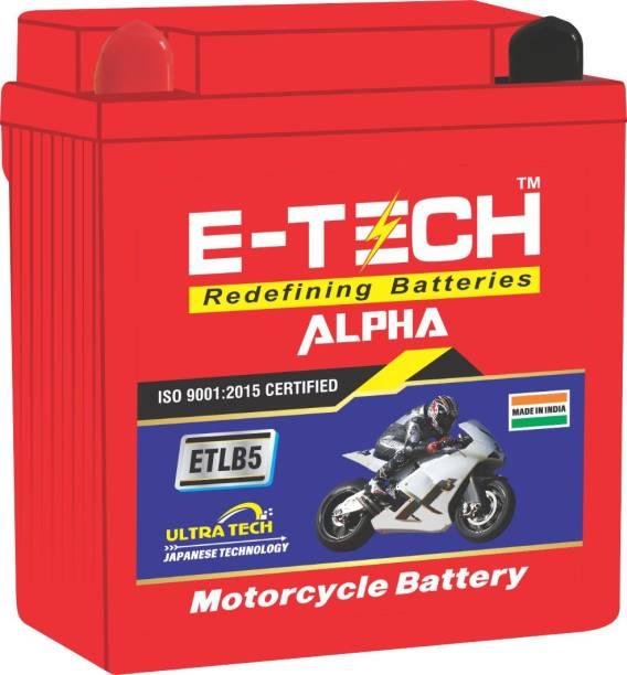 Etech 100001 5 Ah Battery for Bike
