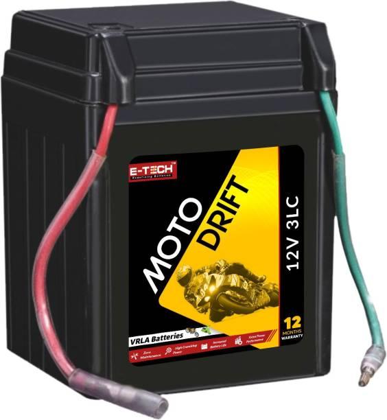 Etech 10012 3 Ah Battery for Bike