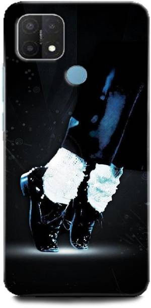 INDICRAFT Back Cover for OPPO A15, CPH2185 MICHAEL JACKSON, DANCE, MUSIC, SHOES, SINGER, MJ