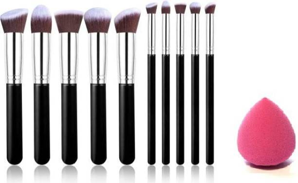 Katti Del Coco Makeup Brushes Set Tool Pro Foundation Eyeliner Eyeshadow