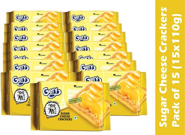 Gone Mad Cheese crackers (Pack of 15)