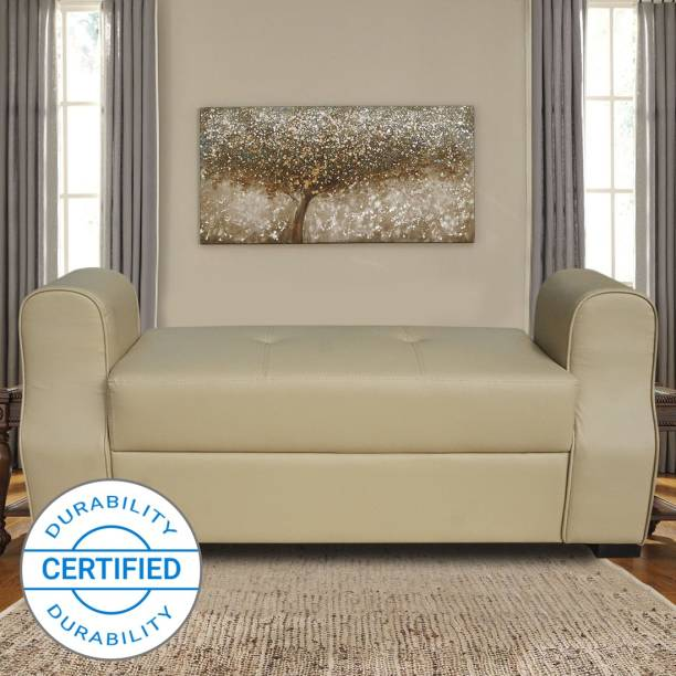 Muebles Casa Marco Upholstered Leatherette Settee