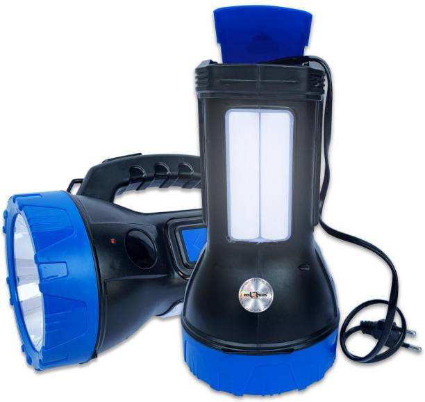 Pick Ur Needs Primium Quality Led Rechargeable Torch 50 Watt Torch Emergency Light