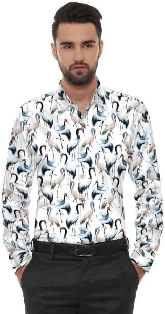 Fancy Fab Poly Silk Printed Shirt Fabric