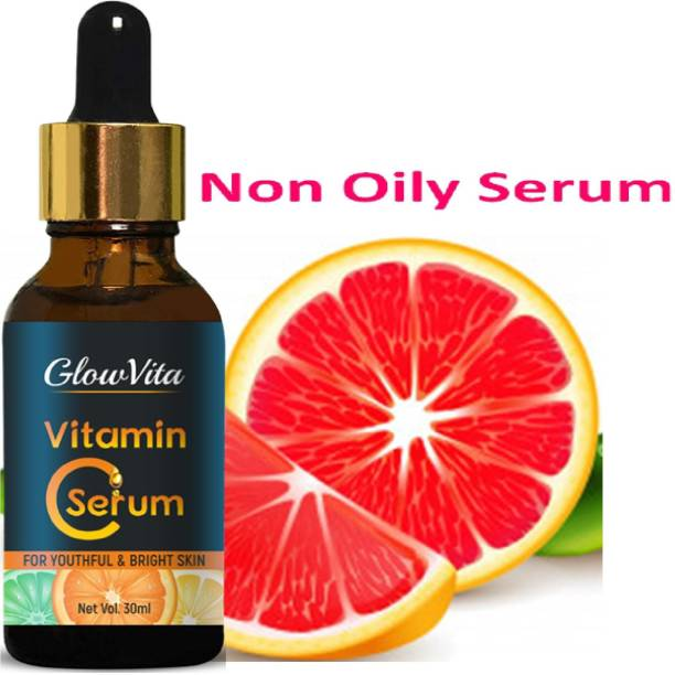 Glow Vita Skin Brightening Vitamin C Serum for Women (for Oily to Normal Skin)